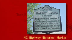 NC Highway Historical Marker